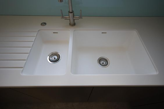Spicy 967 + 969 Corian Sink