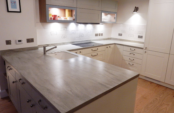 Bev Lindsey Corian Neutral Concrete Review Uk Worktops